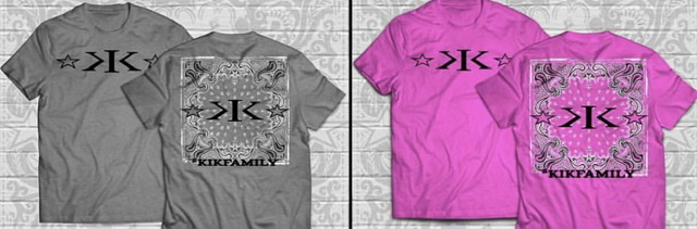 Kids K.I.K. Family Bandana